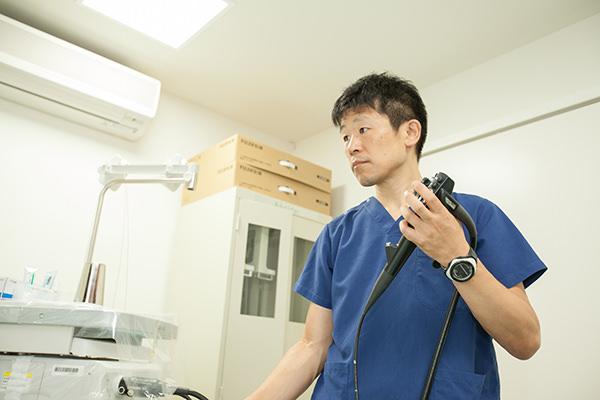 経鼻内視鏡検査について
